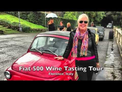 Fiat 500 Wine Tasting Tour - Florence, Italy