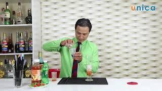 Bài 68 Cách làm soda peach