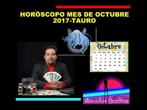 Horóscopo del mes de octubre para tauro, por Reynaldo Silva