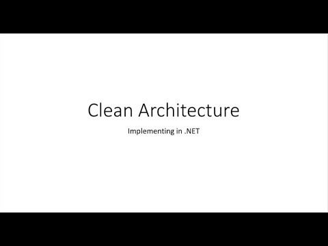 Implementing the Clean Architecture in .NET Core - Ian Cooper