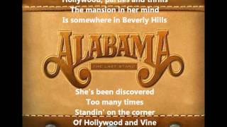 Watch Alabama Hollywood video