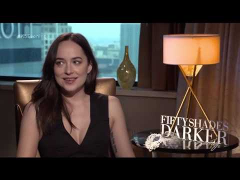 Dakota Johnson answers questions from Fifty Shades Darker fans