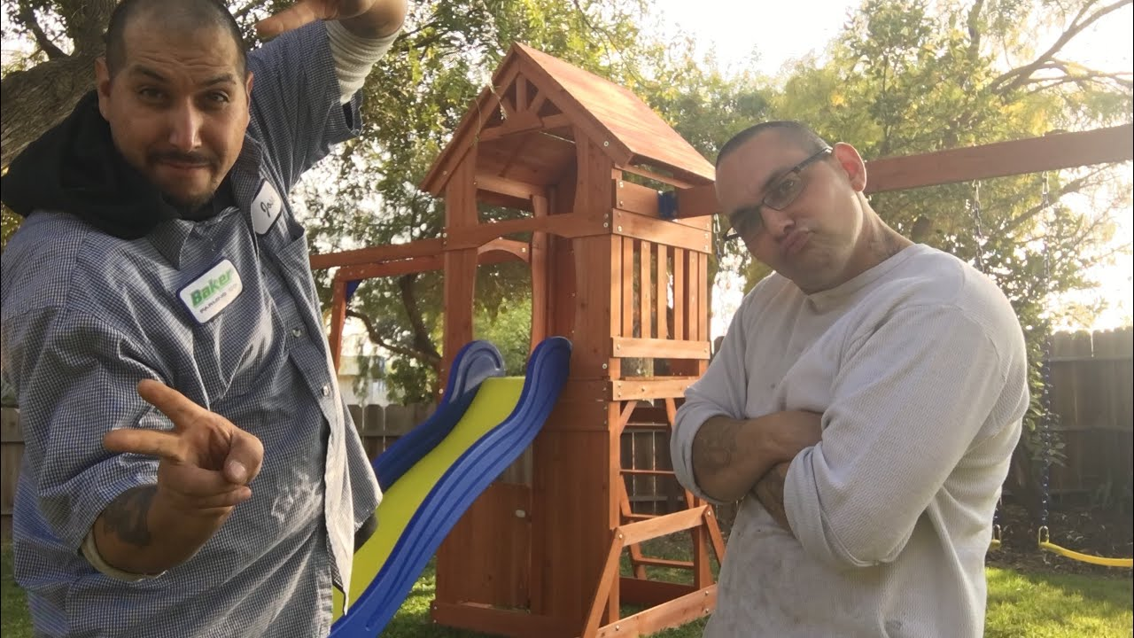 How to build KidKraft Sandy Cove Wooden Playset - YouTube