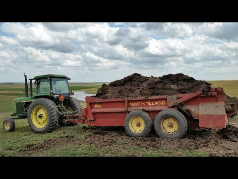 Spreading Manure