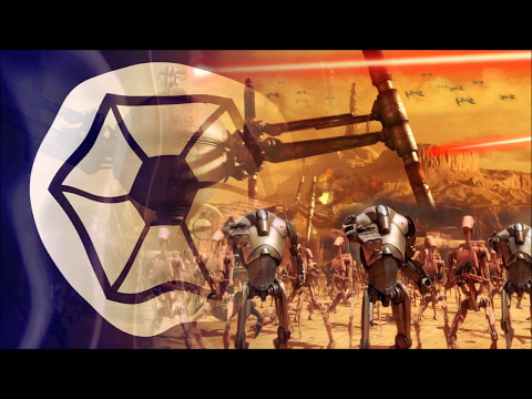 Separatist droids march loop [marching sound edit]