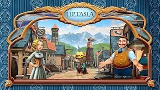 Браузерная игра Uptasia Gameplay