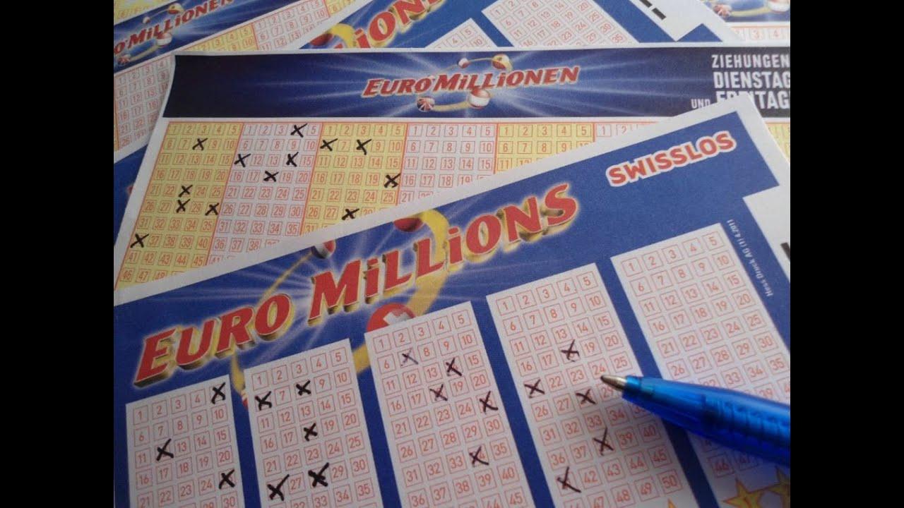 Euro Gewinnzahlen