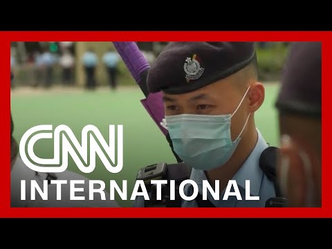 Hong Kong police close Victoria Park on Tiananmen Square anniversary