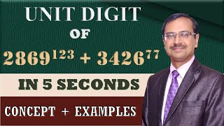 Download Trick 46 - Find UNITS DIGIT of Large Calculations