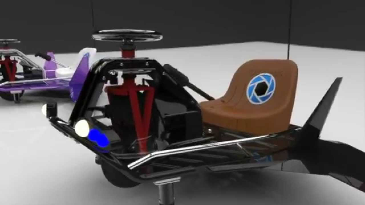 razor crazy cart raptor animation using keyshot youtube. Black Bedroom Furniture Sets. Home Design Ideas