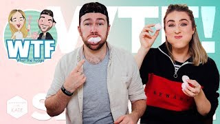 WTF Chubby Bunny Challenge 🐰 *SALIVA ALERT* S2 Ep5 - In The Kitchen With Kate