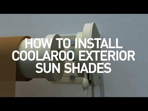 Coolaroo Exterior Shades Installation - YouTube