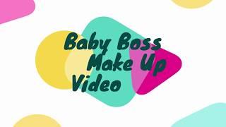 Baby Boss Video/How to Make up baby video/Happy Navaratri