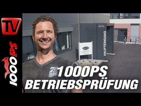 1000PS Betriebsprüfung - Hightech Carbon für Leib und Leben - Ortema