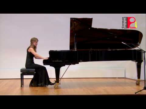 """Vasheruk Sofia piano, A. Shor: Suite Nr.5 """"Marionette Waltz"""" from """"Childhood Memories"""""""
