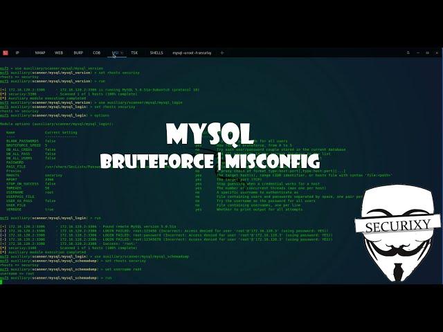 Misconfig MySQL BlankPasswd | Metasploitable 2