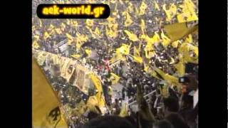 Download Video AEK Athens 70.000 awesome fans at OAKA stadium Greece MP3 3GP MP4