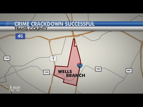 Crackdown in Wells Branch neighborhood shows decrease in crime rates
