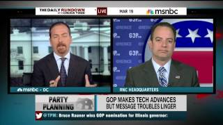 RNC Chairman Reince Priebus on the Daily Rundown 3/19/14