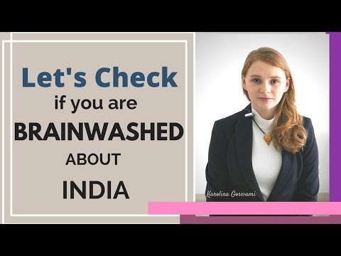 Download Youtube: Lets check if you are brainwashed about India - Karolina Goswami