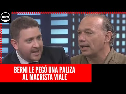 Sergio Berni y Joni Viale