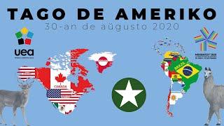 #mondafest2020 Tago de Ameriko