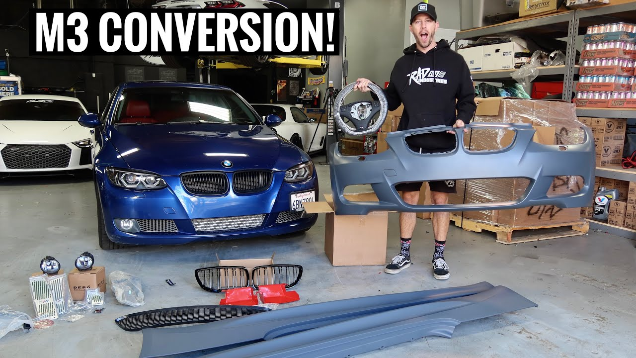 Turning a $5000 BMW 335i into a $50,000 BMW! [Part 2]