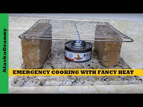 Dollar Tree Emergency Cooking With Fancy Heat- Emergency Cooking Solutions Tips Tricks Hacks