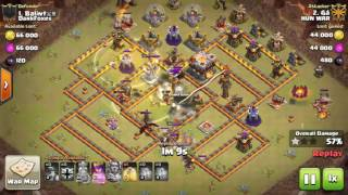 Clash of Clans - Town Hall 11 Mass Miner 3 Star