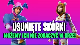 2 SKINS REMOVED BY EPIC IN FORTNITE BATTLE ROYALE