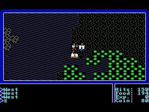 Let's Play Ultima I 03: The Lands of Lord British
