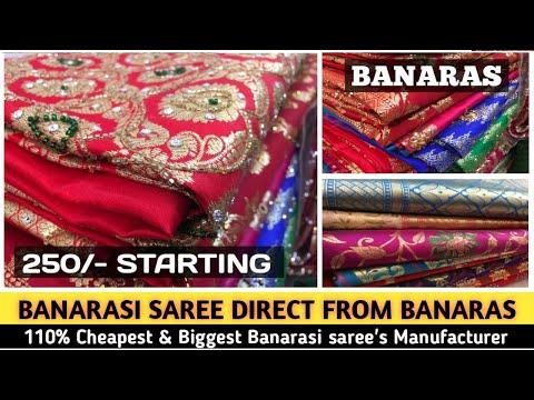 Pure Banarasi Silk Sarees With Price | Direct From Banaras Factory | 100% Real & Best Manufacturer