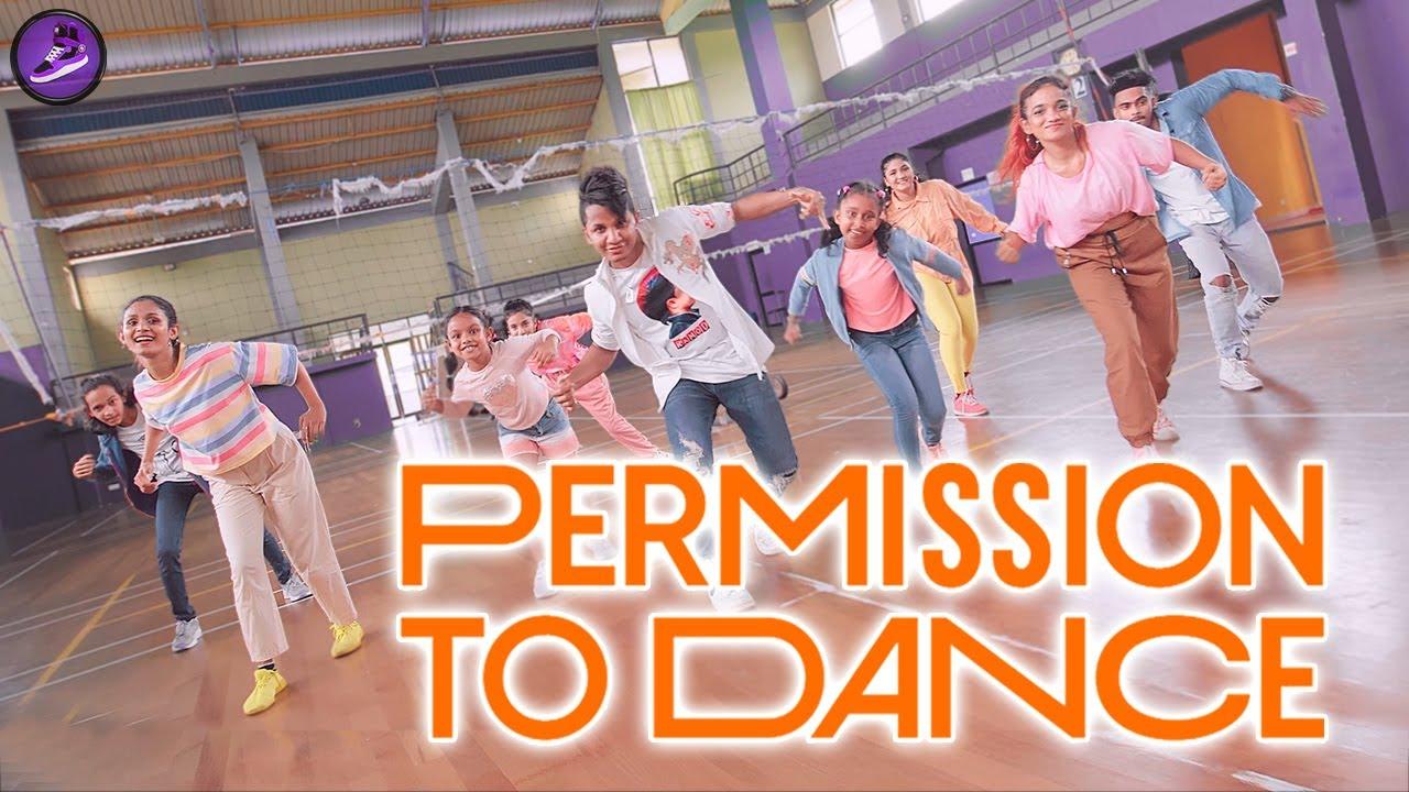 Download BTS PERMISSION TO DaNcE 🟠 RaMoD with COOL STEPS ❤️ Sri Lanka | 방탄소년단 #PermissiontoDance