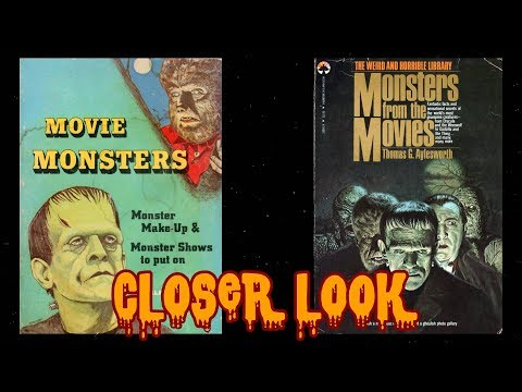 Monster Movie Books of My Youth Closer Look