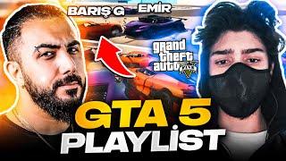 EKİPLE GTA 5 OYNADIK!! SASUKE VE ŞAFAK'I KIŞKIRTTIM! AŞIRI EĞLENCELİ GTA 5 PLAYLIST