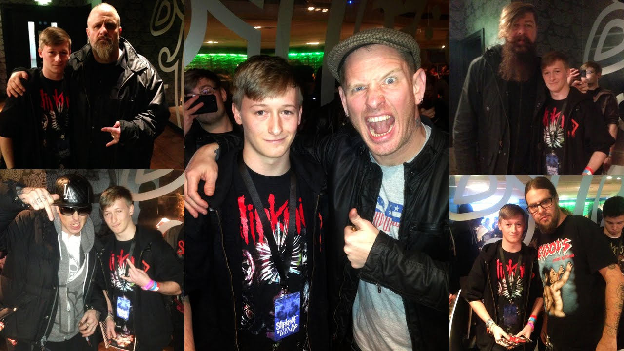 Slipknot London Meet And Greet January 23rd 2015 Youtube