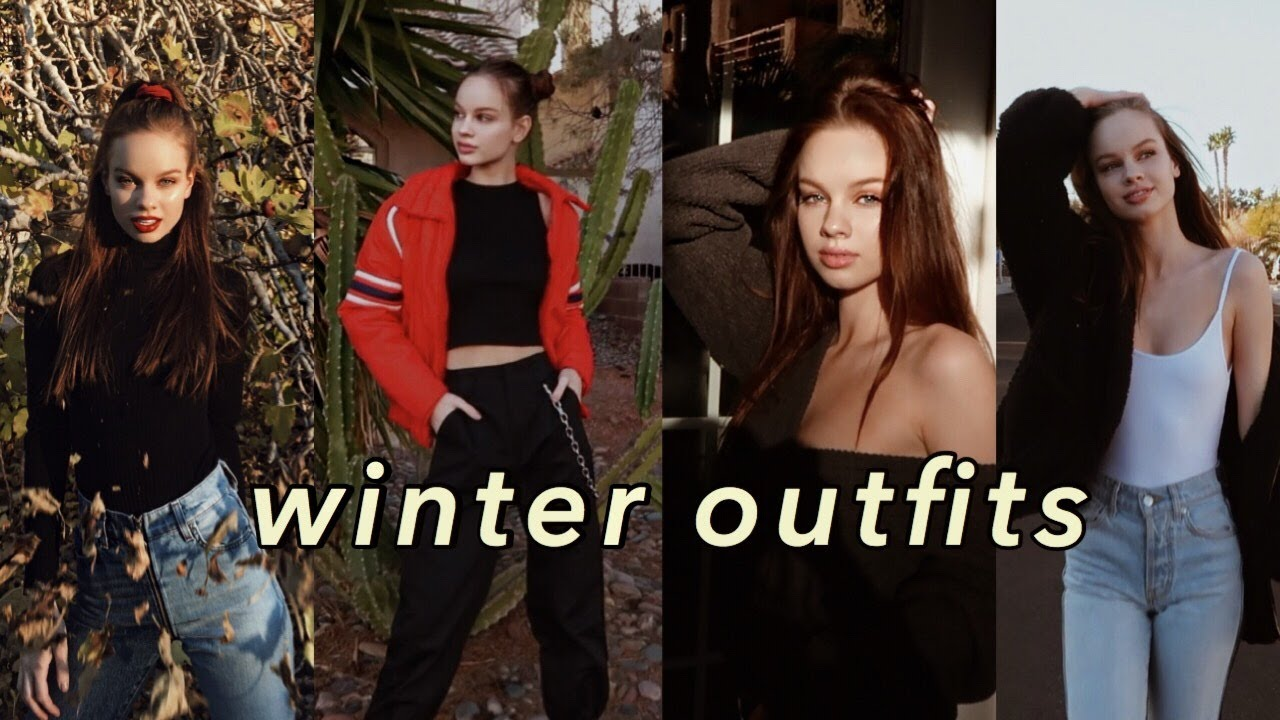 Winter Lookbook / Outfit Ideas   Liora Lapointe 4