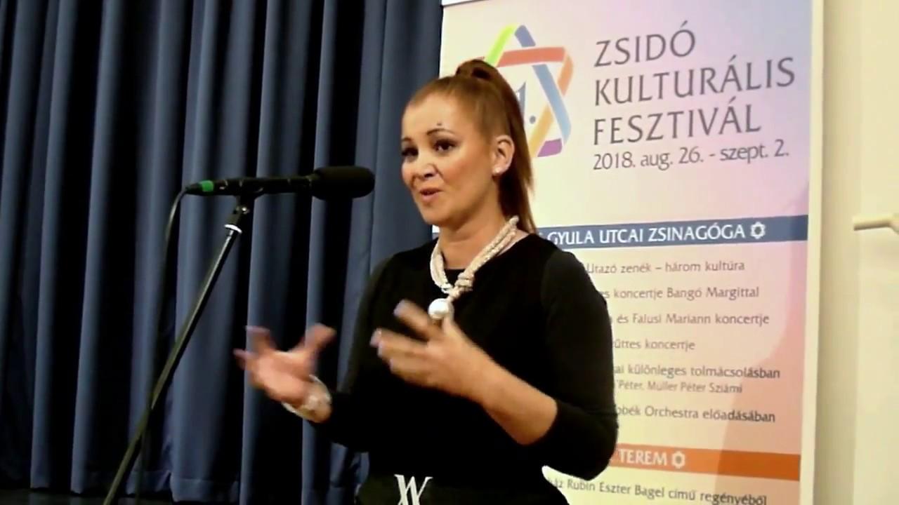 21. Zsidó Kulturális Fesztivál - Bauer Andrea - a női hang lelke ... 14.