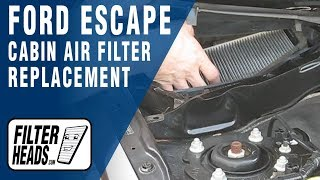 How to Replace Cabin Air Filter 2008 Ford Escape