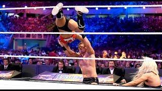 John Cena & Nikki Bella vs The Miz & Maryse Full Match- WWE Wrestlemania Full Show 2017 HD