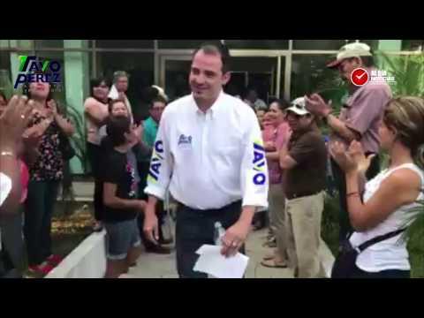 Tavo Pérez inicia campaña con propuestas reales para el municipio
