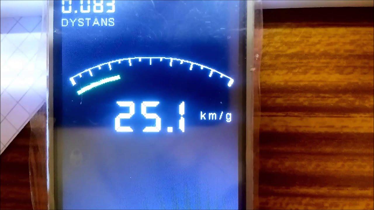 Arduino + tft speedometer by Advorek