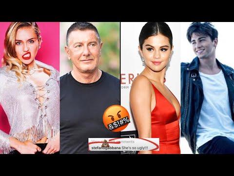 #VIPPISSIMA - È GUERRA SOCIAL TRA STEFANO GABBANA, SELENA GOMEZ, RIKI E MILEY CYRUS