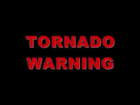 Tornado warning sound effect