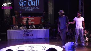 1/4 Popping ▶︎ The Magnificent 2 vs PTL ◀︎ Juste debout Suisse 2017