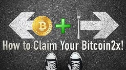 Bitcoin Segwit2x Hard Fork! How to Quickly Claim your Bitcoin2x and Profit From it!