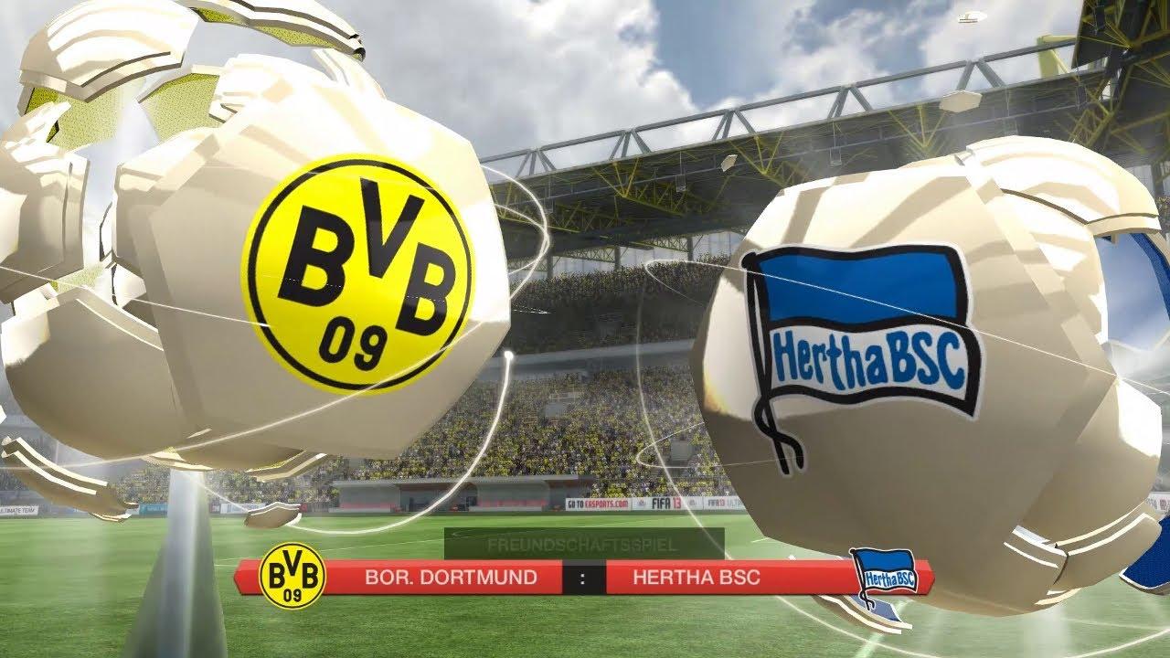 Borussia Dortmund Hertha Bsc