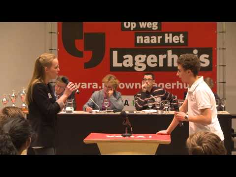 1-op-1 debat finale provincie Zuid-Holland