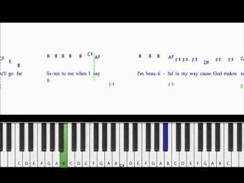 Piano emotional piano chords : Piano Tutorial Born This Way Lady GaGa - YouTube