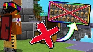 No Chests Blocks Challenge In Skywars Hypixel